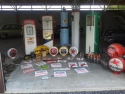 Gas Pump, Gas Globes, Pump Plates